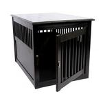 View Image 3 of End Table Dog Crate - Black