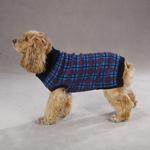 View Image 1 of English Plaid Sweater by Zack & Zoey - Navy