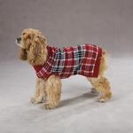 View Image 1 of English Plaid Sweater by Zack & Zoey - Red