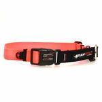 View Image 2 of EzyDog Checkmate Limited-Slip Dog Collar - Orange
