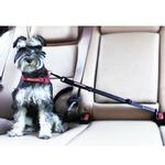 View Image 1 of EzyDog Click Adjustable Dog Car Restraint - Black