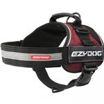 View Image 4 of EzyDog Convert Dog Harness - Burgundy