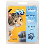 View Image 1 of Feline Soft Claws Nail Caps Home Kit - Blue