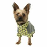 View Image 2 of Fido Fleece Dotted Bliss Dog Coat