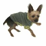 View Image 3 of Fido Fleece Dotted Bliss Dog Coat