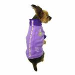 View Image 3 of Fido Fleece Randomness Dog Coat