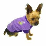 View Image 4 of Fido Fleece Randomness Dog Coat