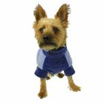 View Image 2 of Fido Fleece Stormy Circles Dog Coat