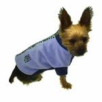 View Image 3 of Fido Fleece Stormy Circles Dog Coat