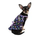 View Image 1 of Fiesta Dot Dog Dress by Puppia - Violet