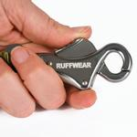 View Image 2 of Flat Out Dog Leash by RuffWear - Obsidian Black