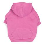 View Image 1 of Fleece Lined Dog Hoodie by Zack & Zoey - Pink