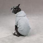 View Image 3 of Fleece Lined Dog Hoodie by Zack & Zoey - Gray