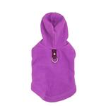 Fleece Vest Hoodie Dog Harness by Gooby - Purple