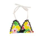 View Image 1 of Flower Print Dog Bikini Top