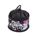 Foldable Dog Travel Bowl by Doggles - Skull & Rose