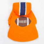 View Image 2 of Football Dog Sweatshirt by Dogo
