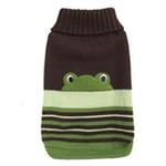 View Image 1 of FouFou Animal Dog Sweater - Frog