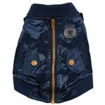 FouFou Dog Bomber Dog Jacket - Navy