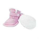 View Image 1 of FouFou Duggz Dog Shoes - Baby Pink