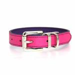 View Image 4 of FouFou Reversible Dog Collar - Purple/Fuchsia