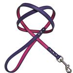 View Image 1 of FouFou Reversible Dog Leash - Purple/Fuchsia