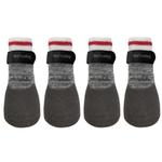 View Image 1 of FouFou Rubber Dipped Dog Socks - Heritage