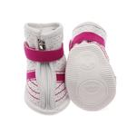 View Image 3 of FouFou Sidekicks Dog Shoes - Pink
