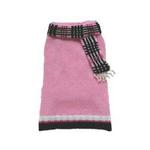 Foxy Cashmere Scarf Sweater by Dogo - Pink