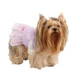 View Image 2 of Foxy Dog Dress by Pinkaholic - Violet