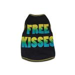 View Image 1 of Free Kisses Dog Tank Top - Black
