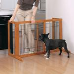 View Image 6 of Free Standing Pet Gate - Autumn Matte