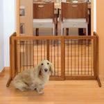 View Image 4 of Free Standing Pet Gate - Autumn Matte