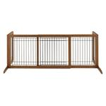 View Image 2 of Free Standing Pet Gate - Autumn Matte