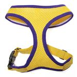 View Image 2 of Freedom Sport Dog Harness by Gooby - Yellow/Purple