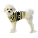 View Image 1 of Fritzy's Fair Isle Dog Sweater - Winter Pear
