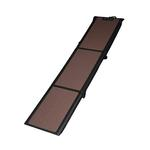 View Image 1 of Full Length Tri-Fold Pet Ramp - Chocolate/Black
