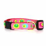View Image 1 of Funky Pink Circles Cat Collar by Up Country