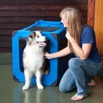 View Image 4 of Generation Soft Dog Crates - Blue Sky