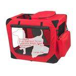 View Image 2 of Generation Soft Dog Crates - Red Poppy