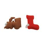 View Image 4 of Gingerbread Cookies Dog Toy Set