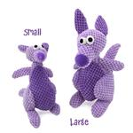View Image 2 of GoDog Checkers Kangaroo Dog Toy