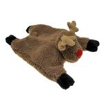 View Image 2 of GoDog Reindeer Flatty Dog Toy with Chew Guard