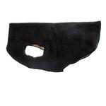 View Image 1 of Gold Paw Reversible Double Fleece Dog Jacket - Black/Camel