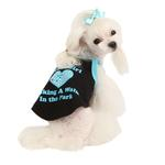 View Image 3 of Good Girl Dog Shirt by Puppia - Black
