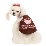 View Image 3 of Good Girl Dog Shirt by Puppia - Brown