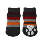 View Image 1 of Gray Stripes PAWks Dog Socks