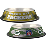 View Image 1 of Green Bay Packers Dog Bowl