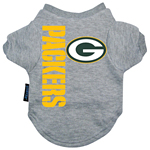View Image 1 of Green Bay Packers Dog T-Shirt