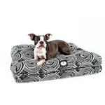 View Image 1 of Greenwich Signature Pillow Dog Bed - Black & White